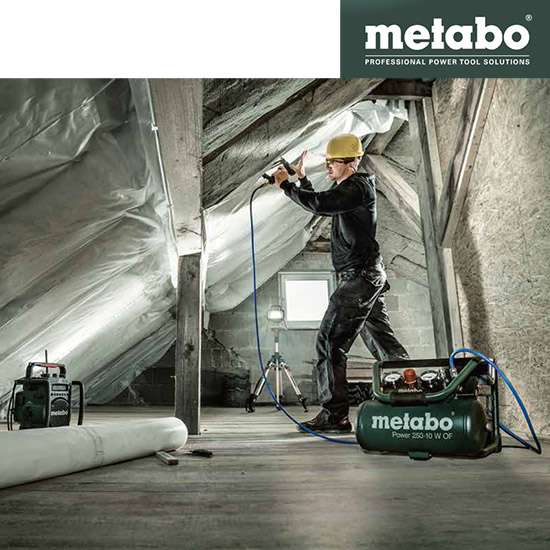 Metabo persluchtsysteem